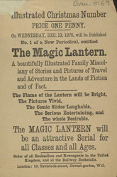 Advert For 'The Magic Lantern', Periodical